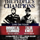 Show Spotlight: Talib Kweli & Immortal Technique @ Baltimore Soundstage, 4/11